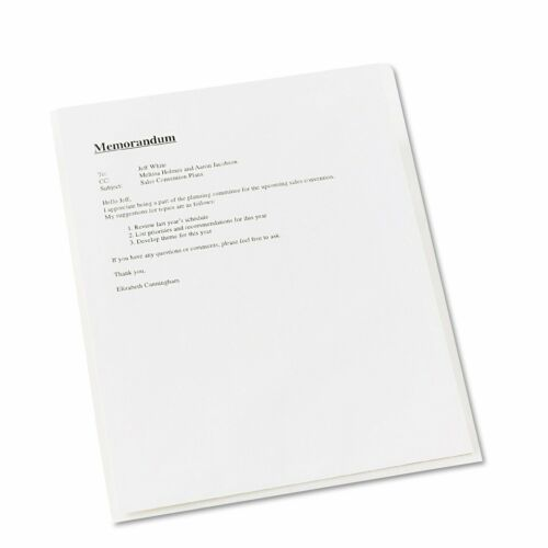 Polypropylene Avery 72311 Clear Plastic Sleeves Pack of 12 Letter