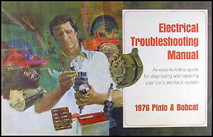 1976 pinto bobcat electrical troubleshooting manual 76 | 1980 Ford Pinto Wiring Diagram |  |