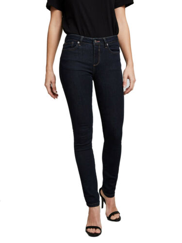 His Jeans Femmes MARYLINE-Slim Fit-High Waist-Bleu-Pure Rinse Wash