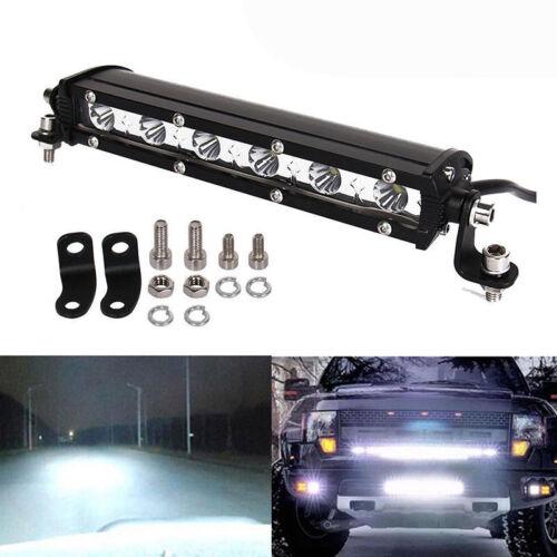 2x 36W 7inch LED Work Light Bar Spot Driving Fog Light Off Road SUV Truck 6000K