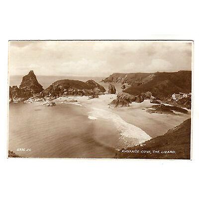 Kynance Cove - The Lizard Real Photo Postcard c1930s