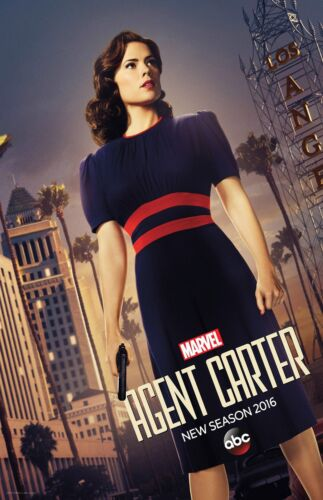 11 x 17 inches Agent Carter poster b