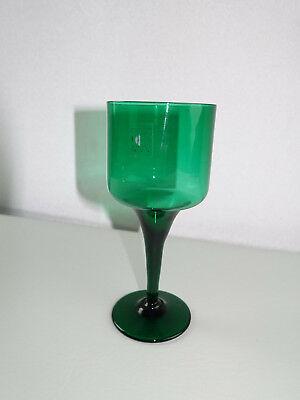 Honig Weinglas Grün 14,2 Cm Glas Vintage Ausreichende Versorgung