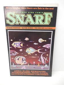 SNARF Kitchen Sink Comic Book #14 Insane Clowns Steve Stiles Joe ...