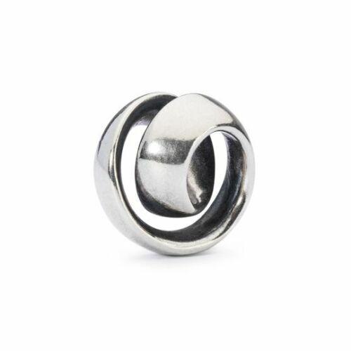 "925//- Sterling plata Trollbeads /""infinito/"" tagbe 10038"