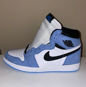 IN HAND Jordan 1 retro high white university blue black
