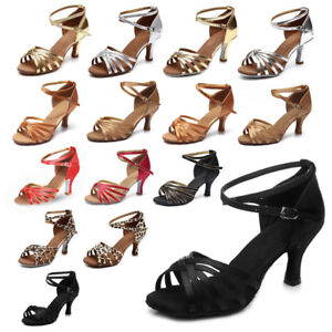 Brand-New-Women-039-s-Ballroom-Latin-Tango-Dance-Shoes-heeled-Salsa-15-Style-Hot