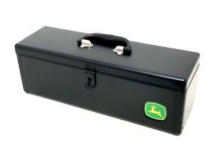 Genuine-John-Deere-Black-Metal-Tool-Box-RE275592