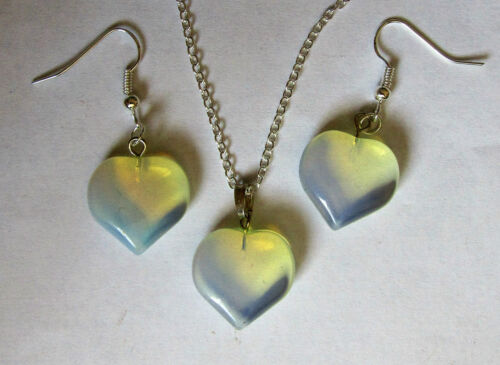 LOVELY SELECTION OF POLISHED OPALITE EARRINGS NECKLACE OR SETS LADIES GIFT IDEA