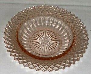 Anchor-Hocking-MISS-AMERICA-PINK-6-1-4-034-CEREAL-BOWL