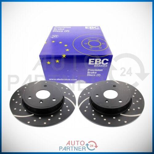 EBC für Smart 450 Fortwo Cabrio Turbogroove Bremsscheiben Bremsscheibe vorne