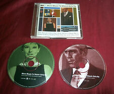 MORE MUSIC TO WATCH GIRLS BY. TWO CD SET. 5099749639225 Booklet. Fine Condition.
