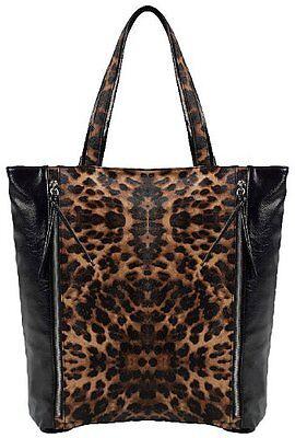 Damen Tier Drucken Imitat Leder Frauen Schulter Tasche