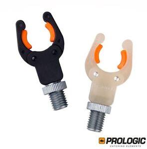 ProLogic-Deluxe-Butt-KLINGER-Rod-Rest-pesca-della-carpa-2pc-Nero-Glow