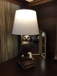 Pottery Barn Teen Pbteen Harry Potter Hedwig Lamp Snowy