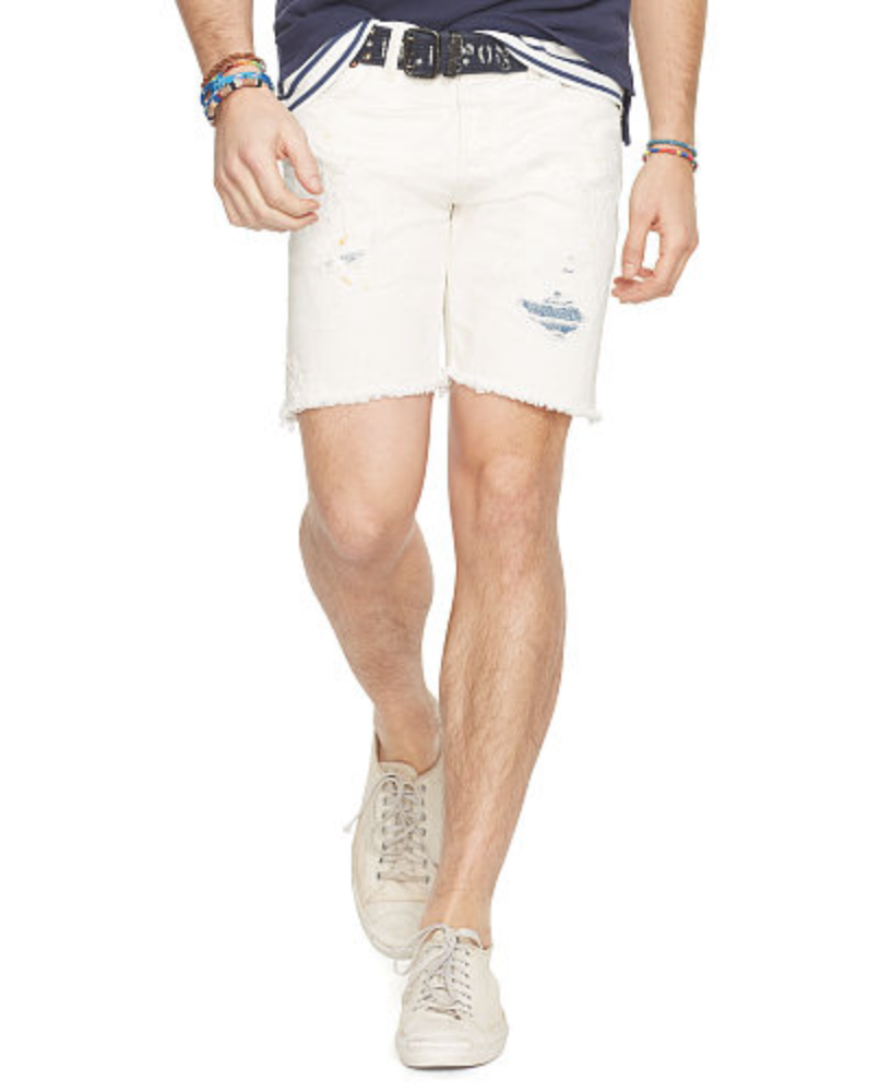 e07ea9e091 Polo Ralph Lauren Jeans Shorts Men's Varick Slim Straight Size 36 ...