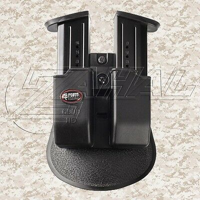 Fobus 9mm Magazine Pouch for Springfield XDM Magazines ( 9mm ) - 6909ND