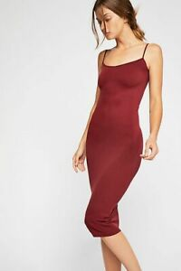 Free-People-Intimately-New-Womens-Tea-Length-Seamless-Slip-Dress-Womens-Xs-L-34