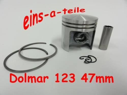 Kolben passend für Dolmar 123 47mm NEU Top Qualität