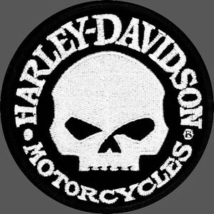 Image Is Loading HARLEY DAVIDSON WILLIE G SKULL Hubcap ROUND 4