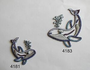 4181-83-Spray-The-Whale-Hollow-Whale-Embroidery-Applique-Patch