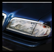 Mercedes W202/S202 Chrom Scheinwerfer Rahmen Rand (LINKS+RECHTS)