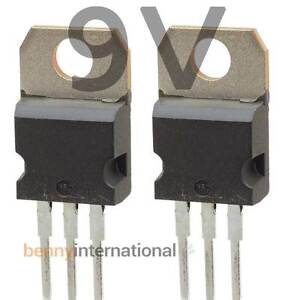 10x L7809CV 3 Terminals Through Hole 1.5A 9V Postive Voltage Regulator TO-220