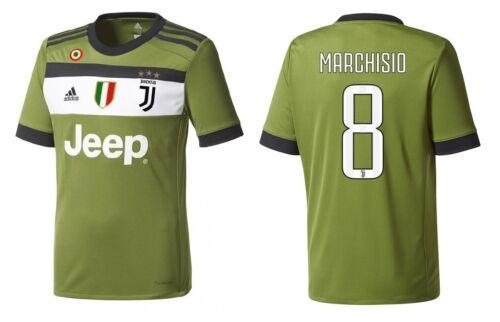 Maillot Juventus Turin 2017-2018 Third Coppa//SCUDETTO-MARCHISIO 8 128-xxl