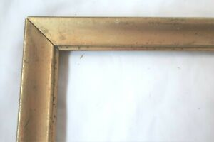 ANTIQUE-FITS-11X16-LEMON-GOLD-GILT-PICTURE-FRAME-WOOD-FINE-ART-COUNTRY-PRIMITIVE
