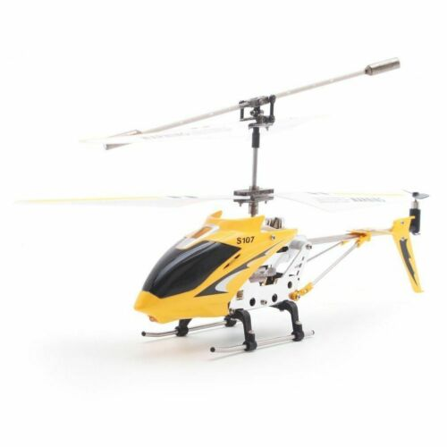 Mini Toy Helicopter RC Remote Control Gyro Metal 3CH Flying Drone Gift Aircraft