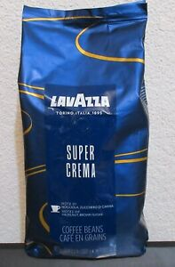 Best Coffee Beans 2021 LAVAZZA SUPER CREMA COFFEE BEANS 2.2 LB's BEST BY 5/2021 | eBay