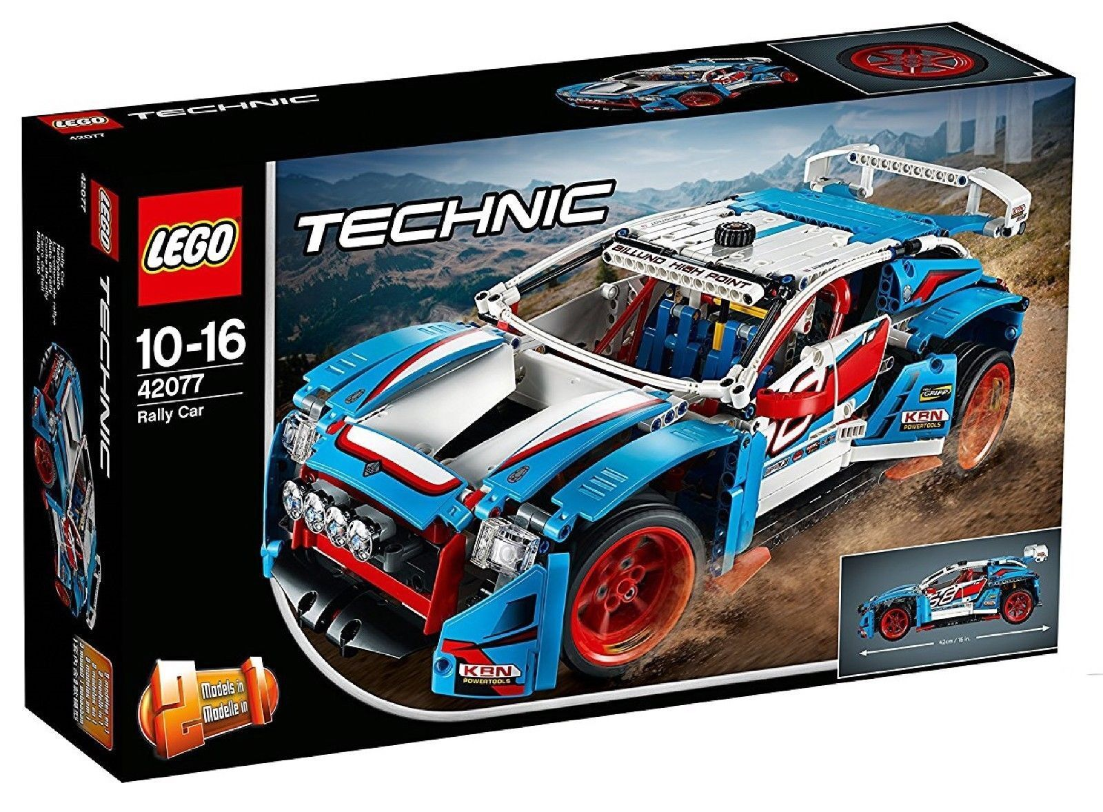 42077 LEGO TECHNIC Auto da Rally