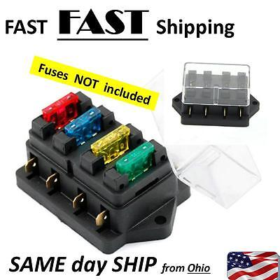 Vintage Auto Restoration Parts - 4 way fuse holder - ATO ATC Blade Style  Medium | eBayeBay