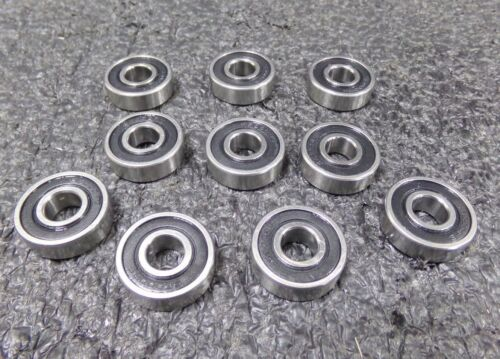 STAINLESS STEEL BEARINGS SEALED 10 PK M S6000RS