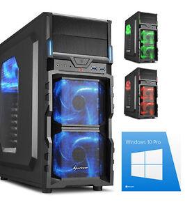 Gamer PC Intel i5 8400 Nvidia 4GB GTX1050Ti 1TB 8GB Gaming Win10 Pro