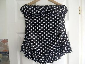 3d8efa4595c Ladies SWIMDRESS BOUTIQUE Size 0 Polka Dot Swim Suit Dress Costume ...