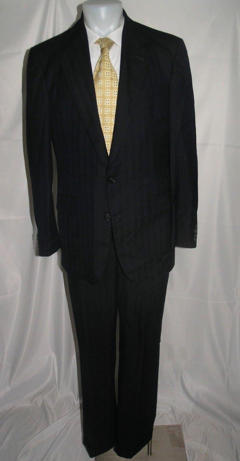 Martin Grünfield Bespoke Custom Two Button Suit 40 R 33 x 30