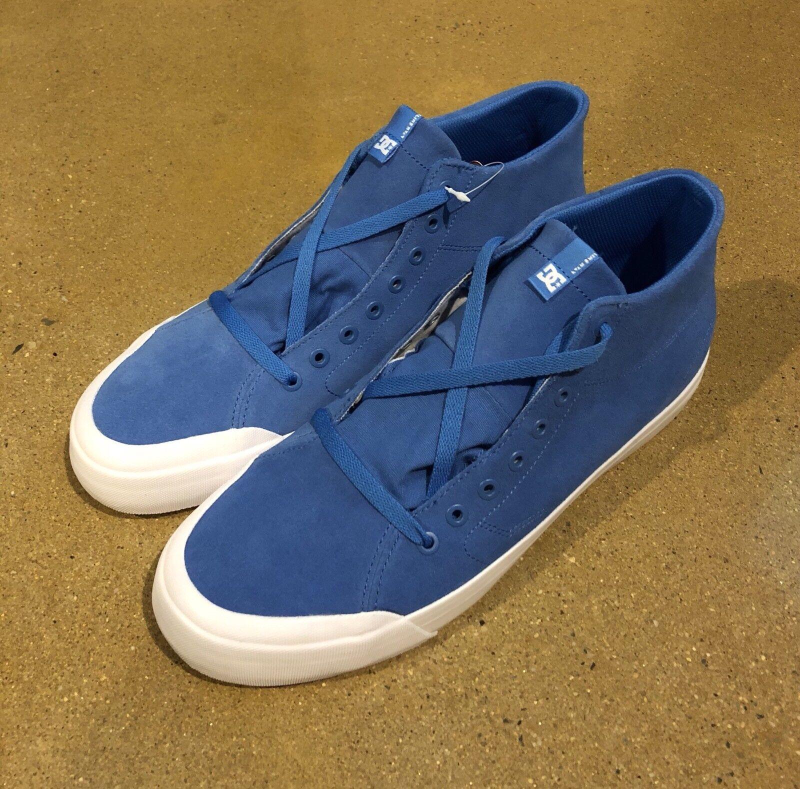 DC Evan Smith HI Zero Blue Uomo's Size 13 US BMX Skate Shoes Scarpe da Ginnastica