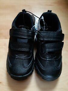 Boys Black School Shoes Asda George
