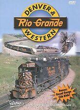 DENVER & RIO GRANDE WESTERN PENTREX NEW DVD VIDEO