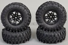 Gmade 1/10 SCALE TRUCK RIMS 1.9 BEADLOCK WHEELS W/ 110MM Gmade Tires (4PCS)