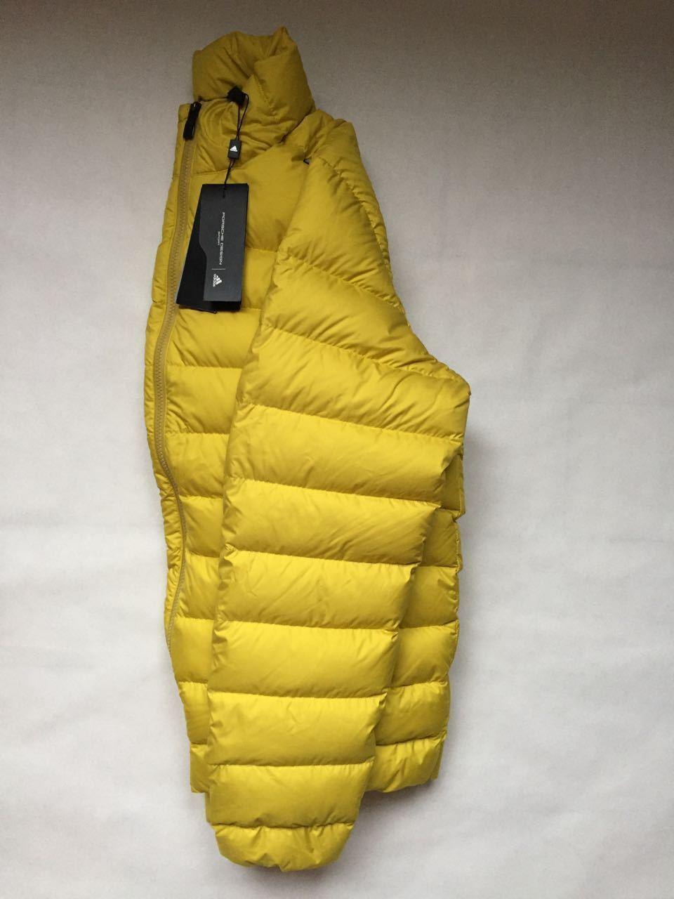Porsche Design P5000 Light Down Jacket L Nuevo con etiquetas Abrigo acolchado con relleno de invierno