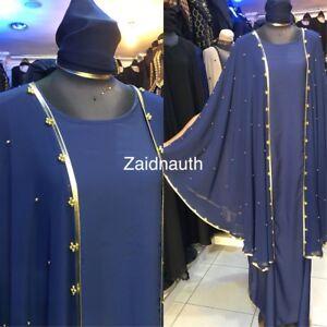islamico Dress new abbigliamento 58 Women 56 sauditi abiti design size Abayas 54 Nuovo I0w7Fxt