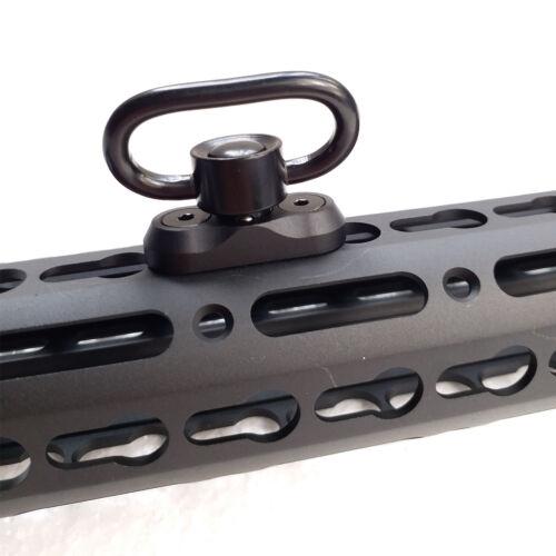 1.25 Inch QD Sling Swivel Keymod Adapter Rail Mount Kit QD Swivel Included