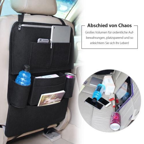 2er Rücklehnentasche Rücksitztasche Kinder Auto Organizer Multi-Tasche Flasche
