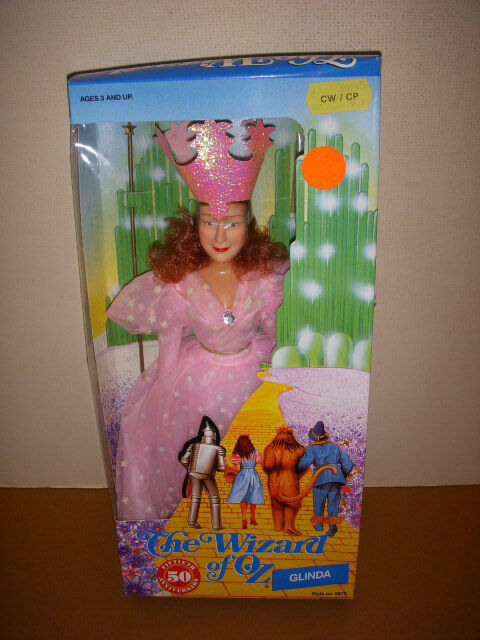 Vintage 1988 Multi Toys Corp., Glinda the Good Witch, The Wizard of Oz, NRFB!