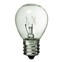 25w S11 Bulb |130volt| Intermediate E17 Clear - High Intensity - 25s11/int/cl