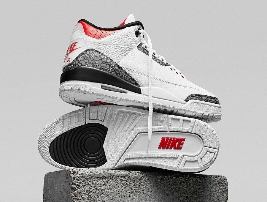 Size 9 - Jordan 3 SE-T Fire Red