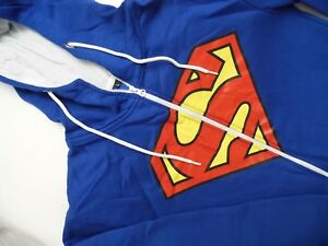 One-Piece-Overall-Superman-Men-039-s-Size-L-All-In-One