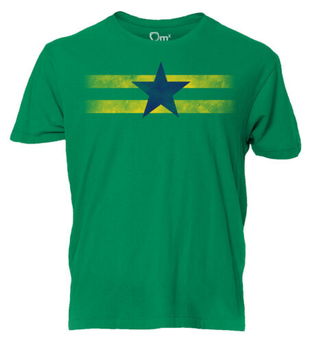 Firefly Independents Logo Mens Green T-Shirt